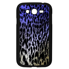 Fabric Animal Motifs Samsung Galaxy Grand Duos I9082 Case (black)