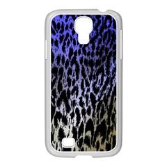 Fabric Animal Motifs Samsung Galaxy S4 I9500/ I9505 Case (white)