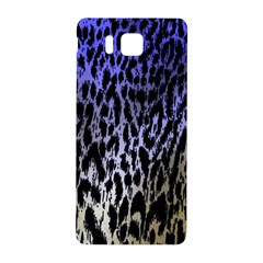 Fabric Animal Motifs Samsung Galaxy Alpha Hardshell Back Case