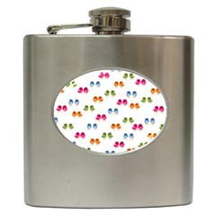 Pattern Birds Cute Design Nature Hip Flask (6 Oz)