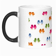 Pattern Birds Cute Design Nature Morph Mugs