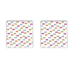 Pattern Birds Cute Design Nature Cufflinks (square)