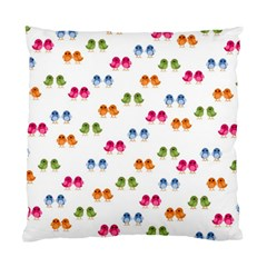 Pattern Birds Cute Design Nature Standard Cushion Case (two Sides)