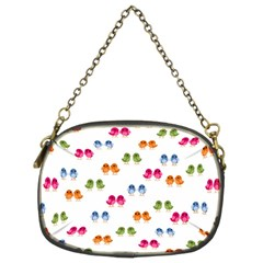 Pattern Birds Cute Design Nature Chain Purses (Two Sides)