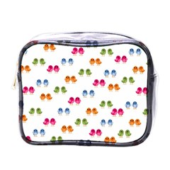 Pattern Birds Cute Design Nature Mini Toiletries Bags