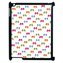 Pattern Birds Cute Design Nature Apple Ipad 2 Case (black)