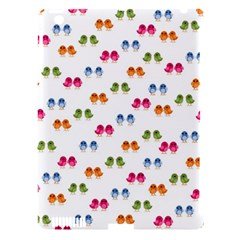 Pattern Birds Cute Design Nature Apple Ipad 3/4 Hardshell Case (compatible With Smart Cover)