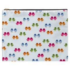 Pattern Birds Cute Design Nature Cosmetic Bag (xxxl)