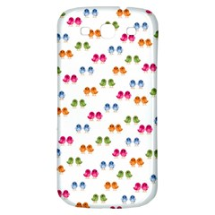 Pattern Birds Cute Design Nature Samsung Galaxy S3 S Iii Classic Hardshell Back Case