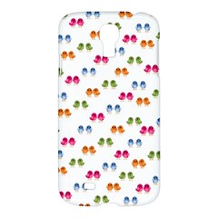Pattern Birds Cute Design Nature Samsung Galaxy S4 I9500/i9505 Hardshell Case