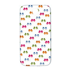 Pattern Birds Cute Design Nature Samsung Galaxy S4 I9500/i9505  Hardshell Back Case