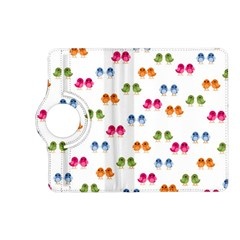 Pattern Birds Cute Design Nature Kindle Fire Hd (2013) Flip 360 Case