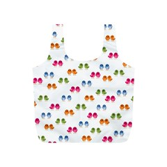 Pattern Birds Cute Design Nature Full Print Recycle Bags (s)