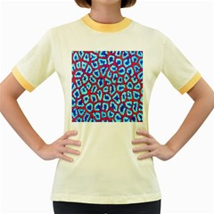 Animal Tissue Women s Fitted Ringer T Shirts