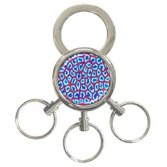 Animal Tissue 3 Ring Key Chains