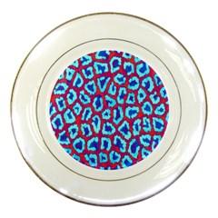 Animal Tissue Porcelain Plates