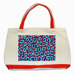 Animal Tissue Classic Tote Bag (red)