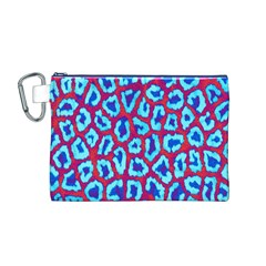 Animal Tissue Canvas Cosmetic Bag (m)