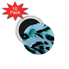 Animal Cruelty Pattern 1 75  Magnets (10 Pack)