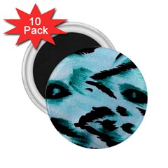 Animal Cruelty Pattern 2.25  Magnets (10 pack)