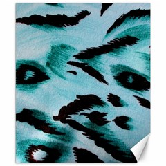 Animal Cruelty Pattern Canvas 8  x 10