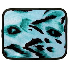 Animal Cruelty Pattern Netbook Case (large)