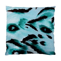 Animal Cruelty Pattern Standard Cushion Case (two Sides)