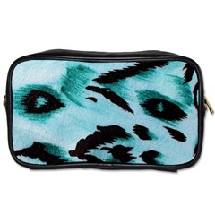 Animal Cruelty Pattern Toiletries Bags 2 Side