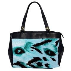 Animal Cruelty Pattern Office Handbags (2 Sides)