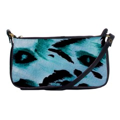 Animal Cruelty Pattern Shoulder Clutch Bags