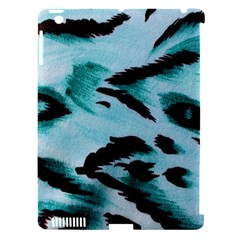 Animal Cruelty Pattern Apple Ipad 3/4 Hardshell Case (compatible With Smart Cover)