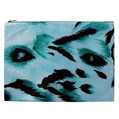 Animal Cruelty Pattern Cosmetic Bag (xxl)