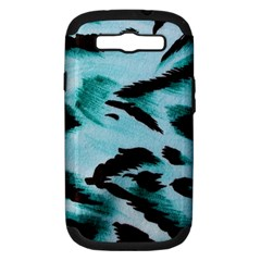 Animal Cruelty Pattern Samsung Galaxy S Iii Hardshell Case (pc+silicone)