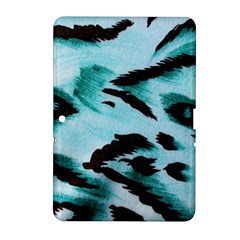 Animal Cruelty Pattern Samsung Galaxy Tab 2 (10 1 ) P5100 Hardshell Case