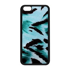 Animal Cruelty Pattern Apple Iphone 5c Seamless Case (black)