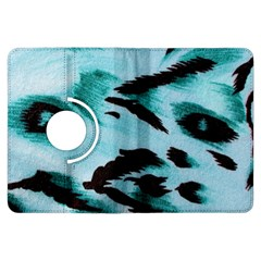 Animal Cruelty Pattern Kindle Fire Hdx Flip 360 Case