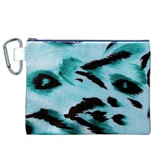 Animal Cruelty Pattern Canvas Cosmetic Bag (xl)