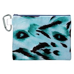 Animal Cruelty Pattern Canvas Cosmetic Bag (xxl)