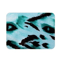 Animal Cruelty Pattern Double Sided Flano Blanket (Mini)