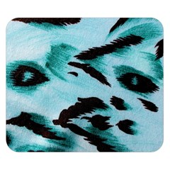Animal Cruelty Pattern Double Sided Flano Blanket (small)