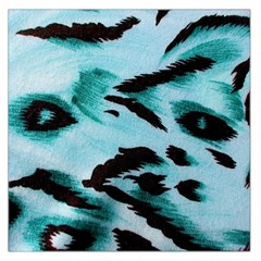 Animal Cruelty Pattern Large Satin Scarf (Square)