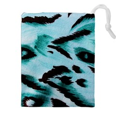 Animal Cruelty Pattern Drawstring Pouches (xxl)