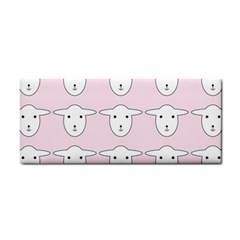 Sheep Wallpaper Pattern Pink Cosmetic Storage Cases