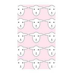Sheep Wallpaper Pattern Pink Memory Card Reader