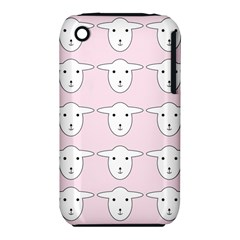 Sheep Wallpaper Pattern Pink Iphone 3s/3gs