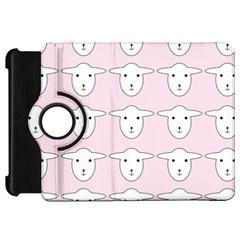 Sheep Wallpaper Pattern Pink Kindle Fire HD 7