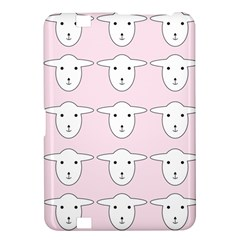 Sheep Wallpaper Pattern Pink Kindle Fire Hd 8 9