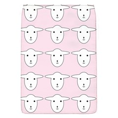 Sheep Wallpaper Pattern Pink Flap Covers (S)