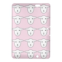 Sheep Wallpaper Pattern Pink Kindle Fire Hdx 8 9  Hardshell Case