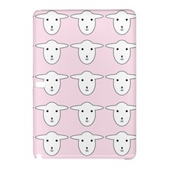 Sheep Wallpaper Pattern Pink Samsung Galaxy Tab Pro 12.2 Hardshell Case